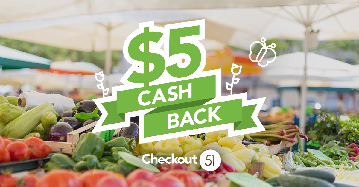Here's $5 off your groceries!