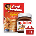 Tedeschi Food Shops_COMBO: Nutella® Hazelnut Spread + Aunt Jemima®_coupon_53151