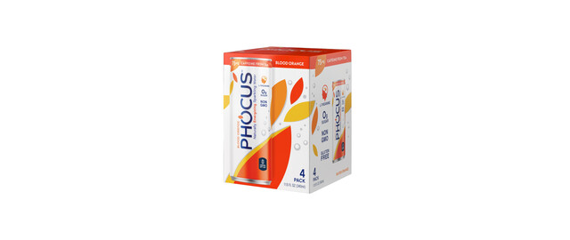 Phocus Caffeinated Sparkling Water 4 Pack coupon